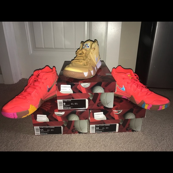newest collection 82304 a06d9 Nike Kyrie 4 Cereal Pack NWT